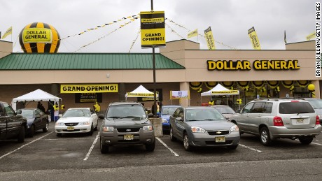 Atmosphere at the official opening of the North Arlington Dollar General Store on September 12, 2009 in North Arlington, New Jersey.