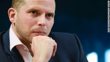 Belgian State Secretary for Asylum Policy, Migration and Administrative Simplification Theo Francken.