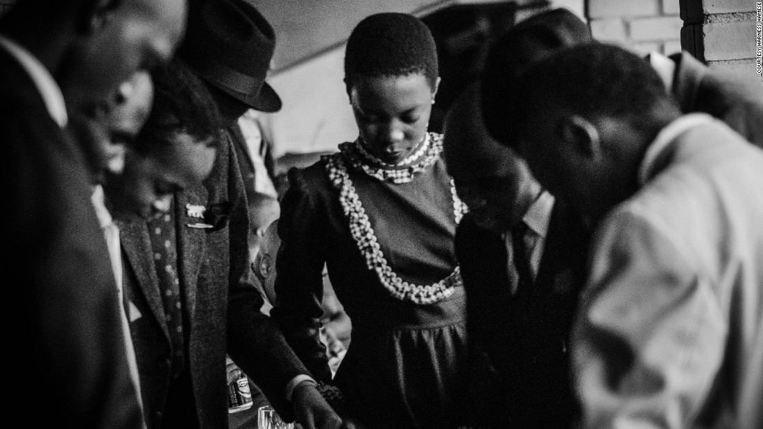 "He started photographing South Africa's street styles after meeting with a group of dandy enthusiasts named Khumbula (a Nguni word that means ""remember""). <br />"