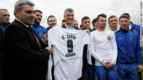 Kosovo played its first friendly game back in 2014 against Haiti.