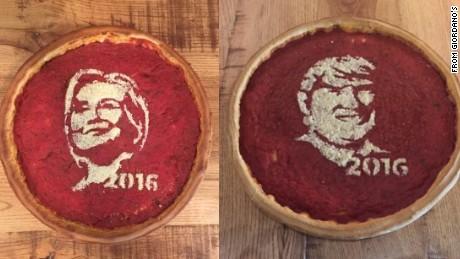 Pizza parlor gets political