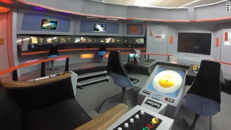 Star Trek replica built