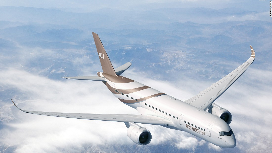 The most deep-pocketed buyers can also order larger models, such as the Boeing 747 and Airbus A340 or the newest Boeing 787 and Airbus A350 (pictured).
