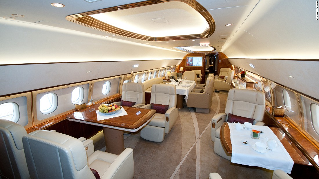 "<a href=""http://www.comluxaviation.com"" target=""_blank"">Comlux</a> is a Swiss firm specializing in the design, outfitting and operation of large corporate jets."