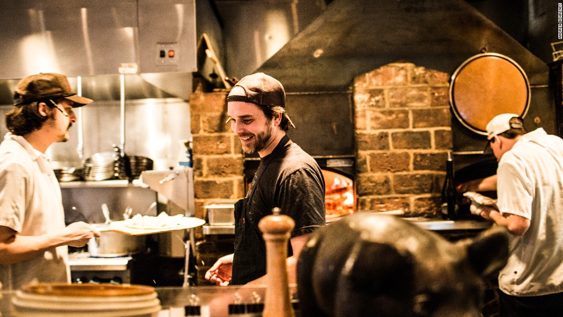 City House chef and Nashville native Tandy Wilson, center, recently won a James Beard Award for best chef in the Southeast. CNN asked him for some Nashville travel ideas.