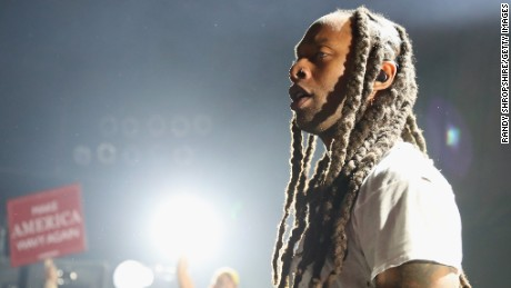 """Ty Dolla Sign performs at MTV's """"Wonderland"""" LIVE Show in Los Angeles, California."""