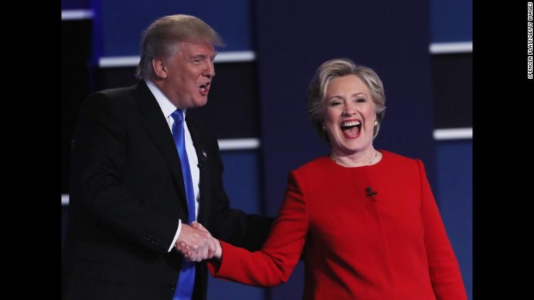 First CNN/ORC poll post-debate shows Clinton bump