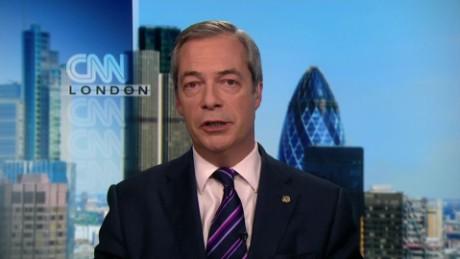 Nigel Farage on the appeal of Trump