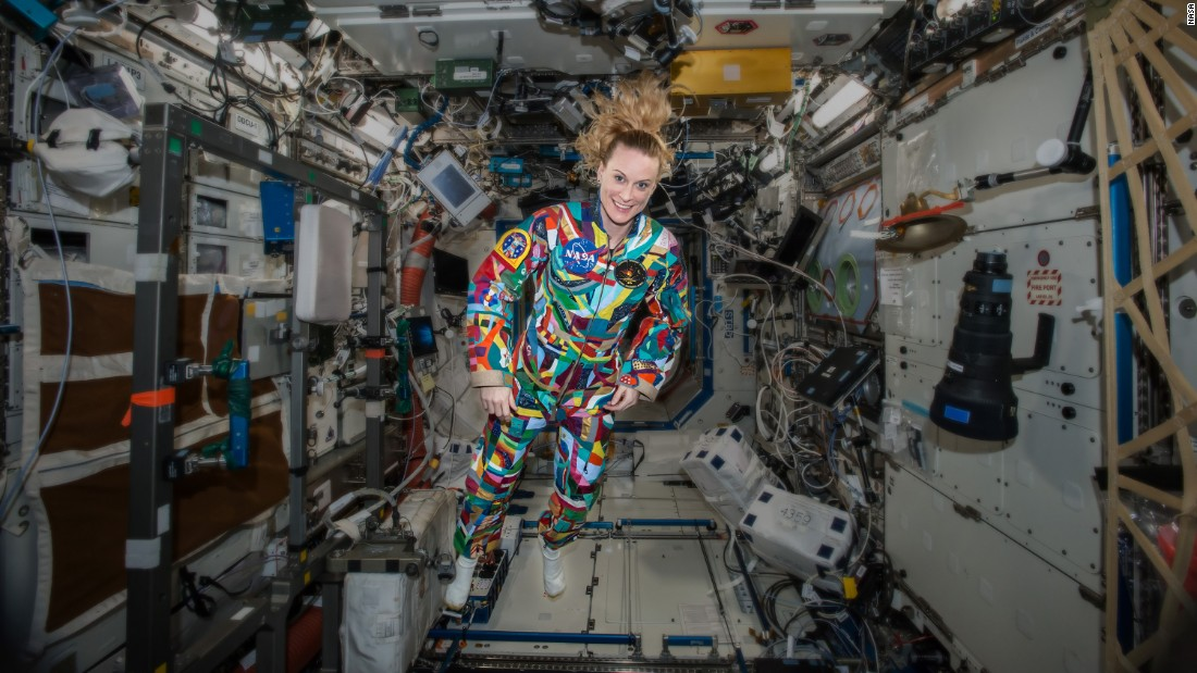 Young cancer patients paint space suits - CNN.com