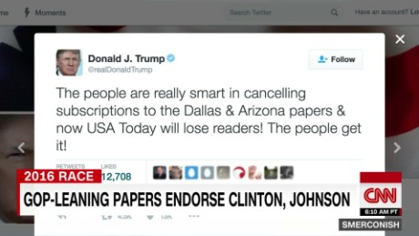 GOP-leaning papers endorse Clinton and Johnson _00022719