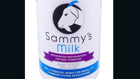 Sammy's Milk Baby Food is being recalled due to inadequate testing for a potentially fatal bacteria.