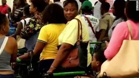 Hurricane Matthew threatens Jamaica, Cuba, Haiti