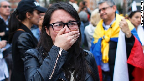Colombia must pick itself up and keep pushing for peace