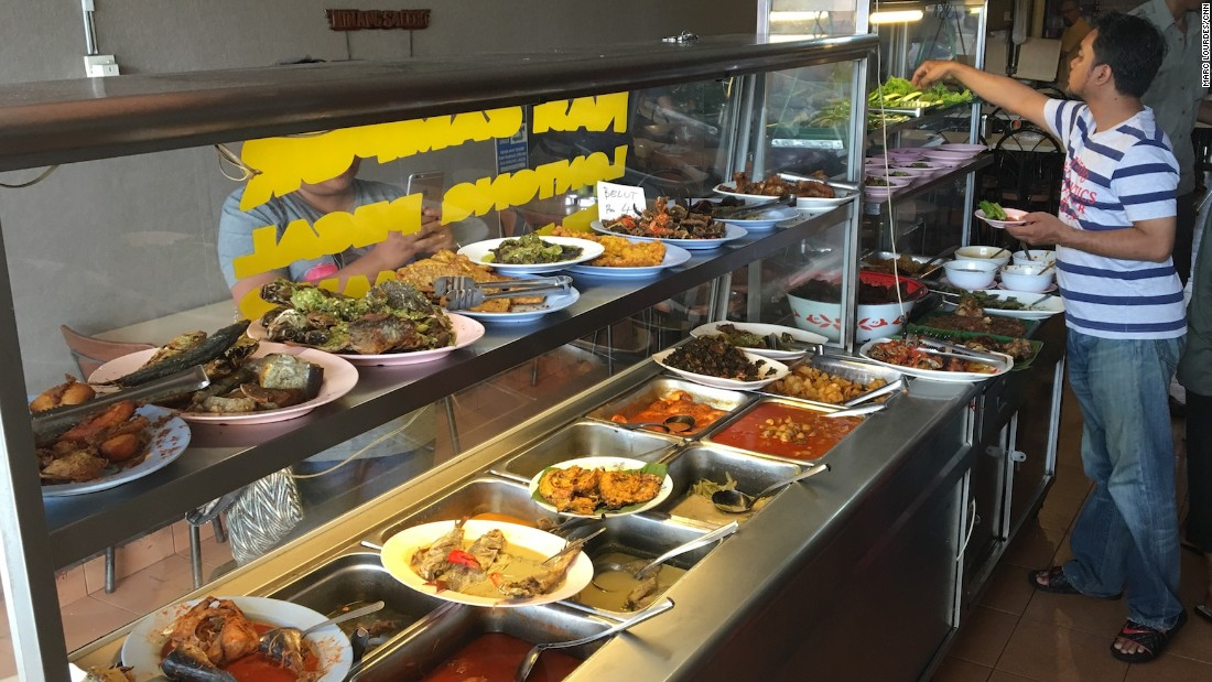 Restoran Minang Salero, in the inner city suburb of Sentul, is where you'll find some of the best nasi padang in KL.