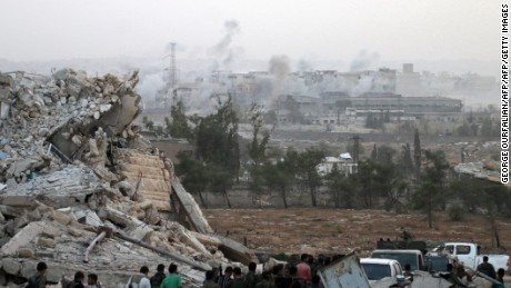 U.S. and Russian Federation trade blame on Syria after Washington drops ceasefire talks
