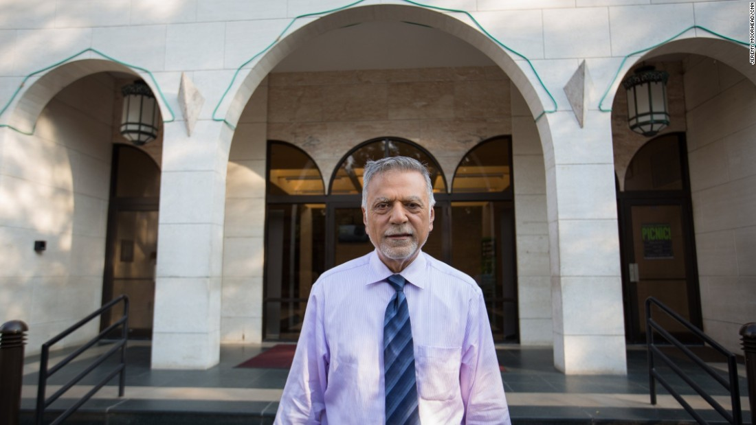 """Hossein Goal, 83, real estate investor and agent, lives in Northern Virginia. <br /><br />""""People are free to say whatever. We as a Muslim community have a responsibility to prove otherwise -- I think the intellect of the average American is beyond the rhetoric of what we are hearing."""" <br />"""