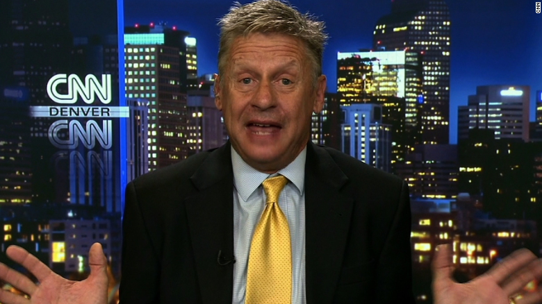 Gary Johnson explains recent gaffes