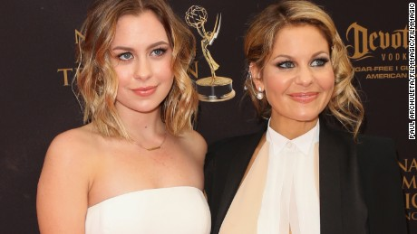 """Natasha Bure is the daughter of """"The View"""" panelist and actress Candace Cameron Bure."""