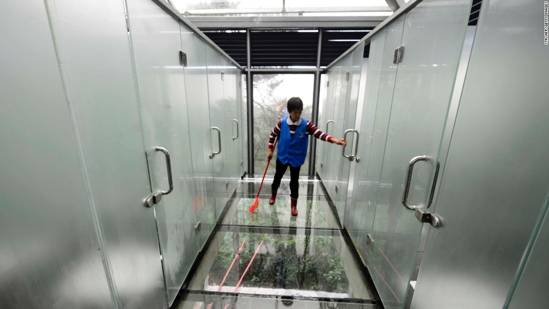 """The attraction-cum-washroom invited mostly negative assessments from netizens. """"Who would dare go to a toilet like this?"""" said a commenter named Lin. """"Insane. Perverse."""""""