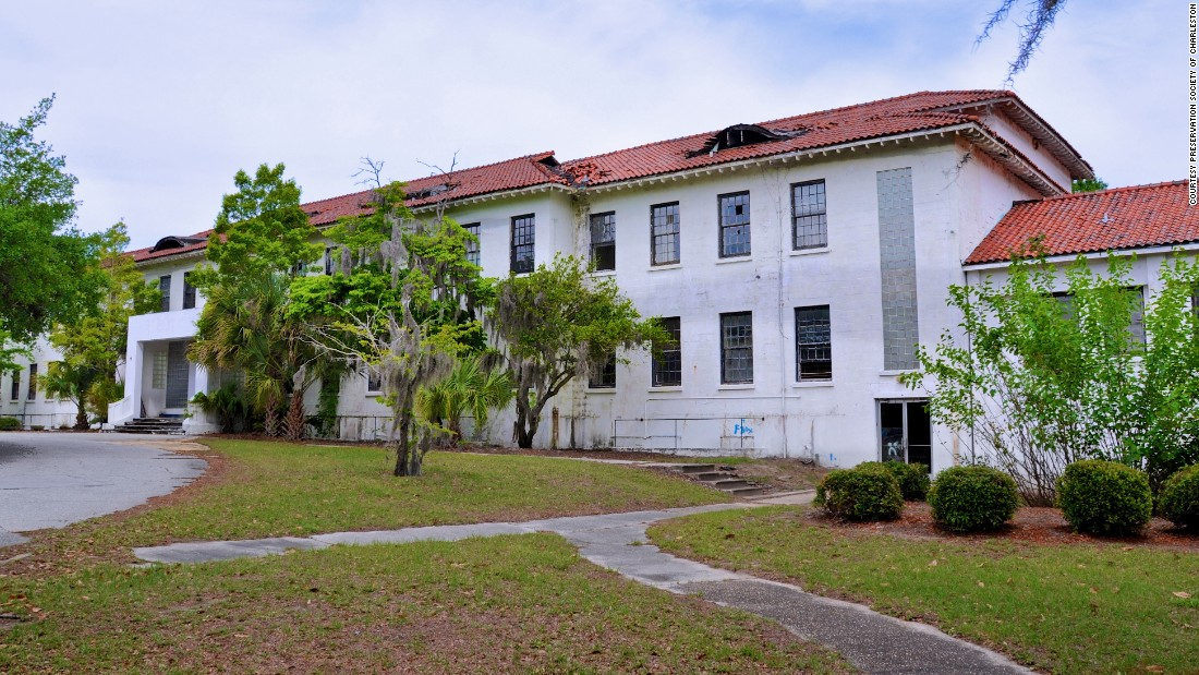 <strong>Charleston Naval Hospital District, North Charleston, South Carolina</strong>—Many American servicemen injured in Europe and Africa during World War II first stopped here before they headed home. The hospital district is now threatened by a proposed rail line.