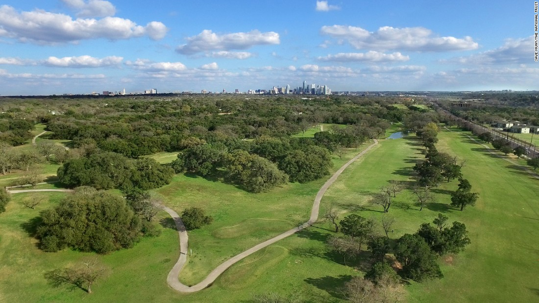 """<strong>Lions Municipal Golf Course, Austin, Texas</strong>—<a href=""""http://www.savemuny.com/"""" target=""""_blank"""">Nicknamed """"Muny,"""" </a>Lions Municipal Golf Course is commonly known as the first municipal golf course in the South to desegregate (in 1951). It's facing development pressure.<br />"""