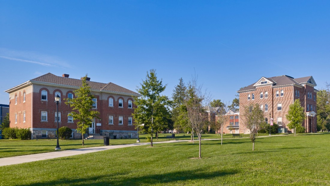 """<strong>Azikiwe-Nkrumah Hall Lincoln University, Lincoln, Pennsylvania</strong>—Built in 1865, it's the oldest building on the campus of the first degree-granting institution in the nation for African-Americans. <a href=""""http://www.lincoln.edu/azikiwe-nkrumah-hall"""" target=""""_blank"""">Named for two alumni</a>, Dr. Nnamdi Azikiwe '30, the first president of Nigeria and Dr. Kwame Nkrumah '39, the first president of Ghana, the hall would require a significant amount of work and resources to restore it to working condition. <br />"""