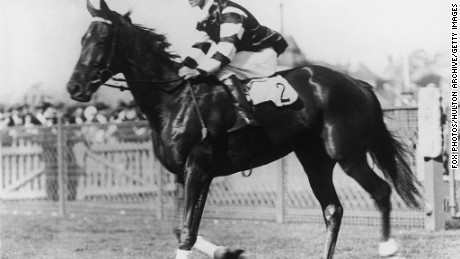 """Phar Lap, known as """"Big Red,"""" won the Melbourne Cup in 1930."""