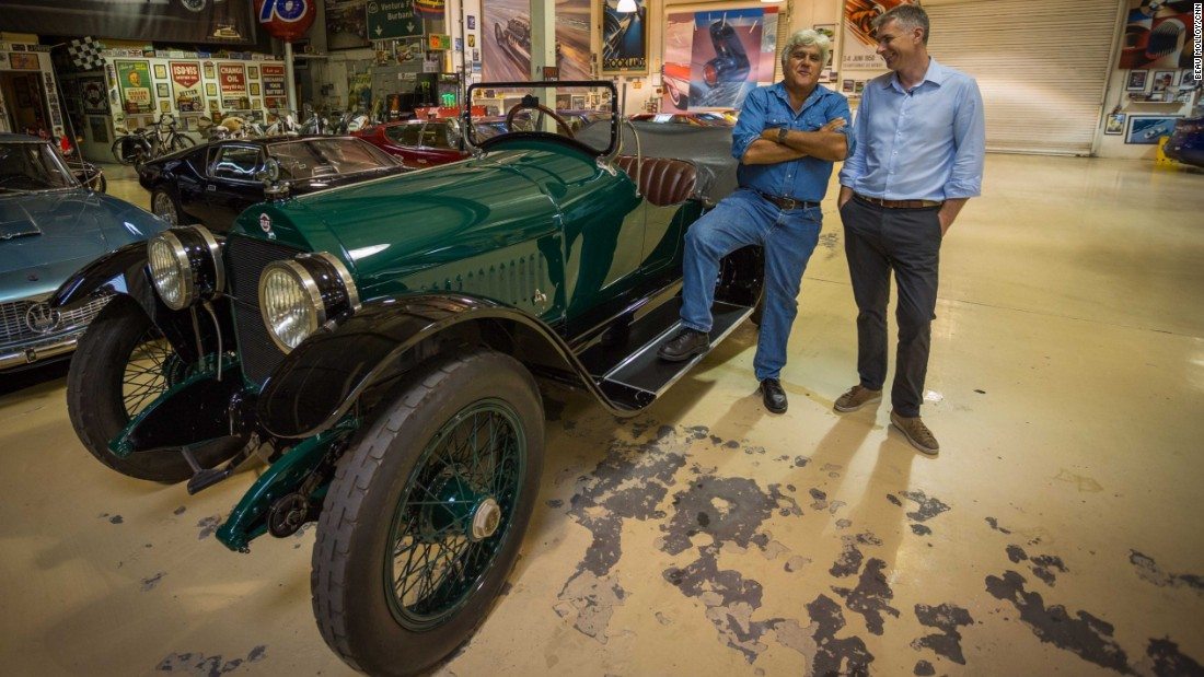 CNN Sport's Don Riddell enjoyed a rare glimpse into the TV host's remarkable car collection.
