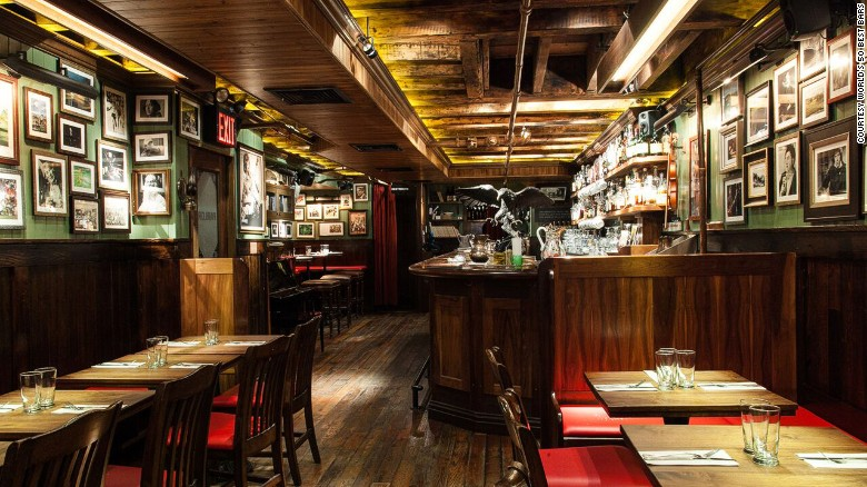 And the best bar in the world is... New York's Dead Rabbit Grocery & Grog -- an apparently unbeatable mix of informal taproom and