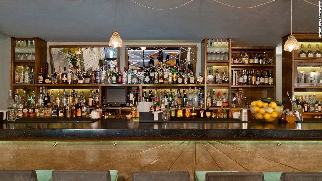 """At number 13, Mexico City's Licoreria Limantor was last year described by the 50 Best Bars website as a """"trendy den of delectable drinks."""""""