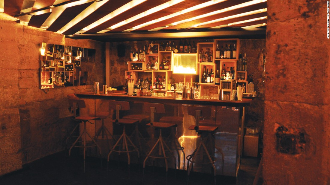 Paris's Candelaria is number 17 on the list. This Mexican-style taqueria specializes in agave-based drinks.