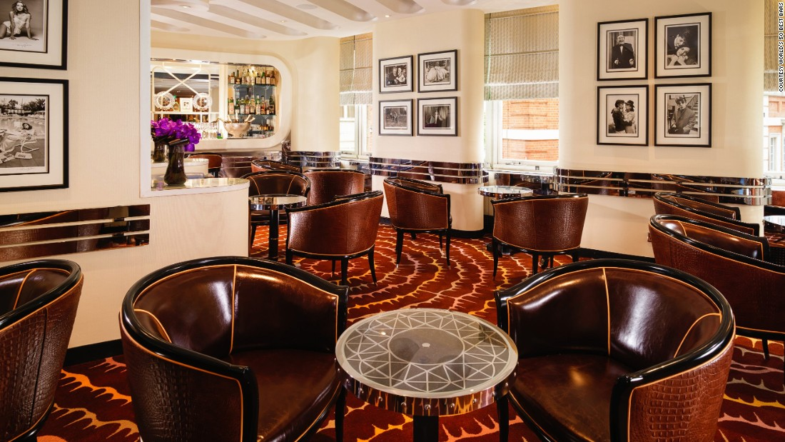 Though it no longer holds the top spot, London can console itself with a number 2 position for its American Bar, a classic venue in the city's Savoy Hotel.