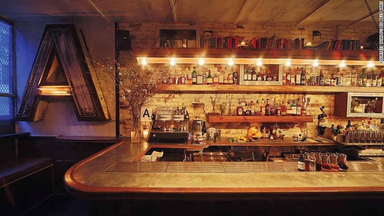 Attaboy, at number 5, is described by the 50 Best Bars website as a New York City