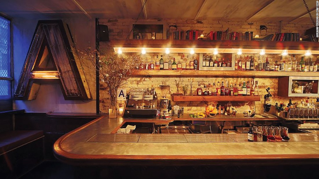 """Attaboy, at number 5, is described by the 50 Best Bars website as a New York City """"institution."""""""