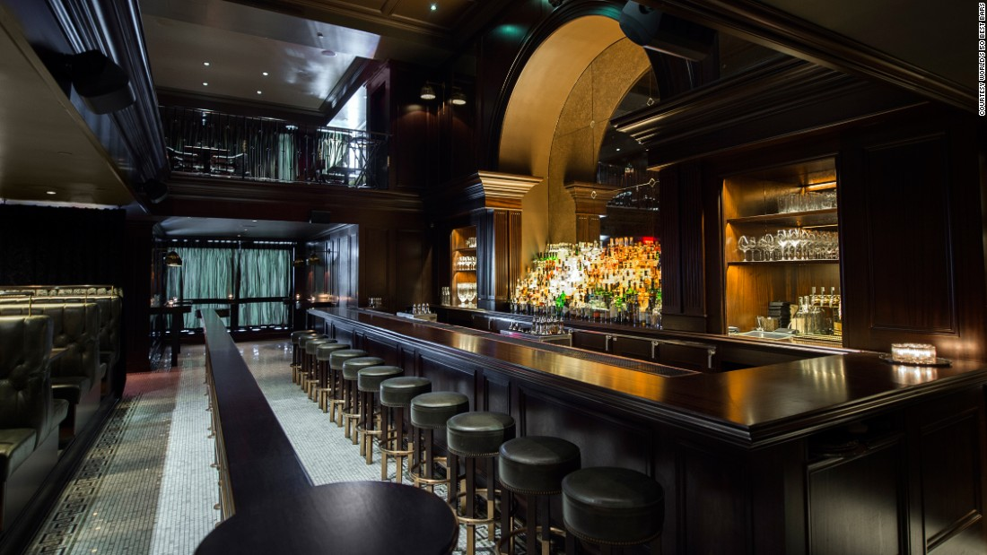 At number 8, New York's NoMad Bar aims to emulate a classic NYC tavern. It's one of seven New York bars to make the list.