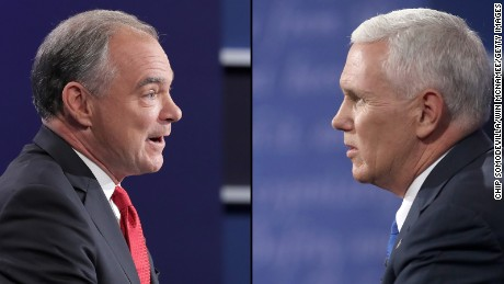 Iran nuclear issue figured in Pence-Kaine VP debate