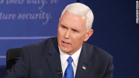 Mike Pence calls for safe zones in Syria