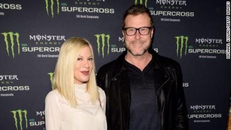 Tori Spelling and husband Dean McDermott