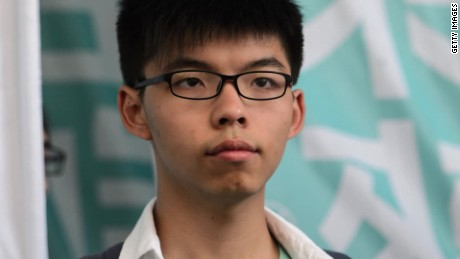 Hong Kong activist detained in Thailand