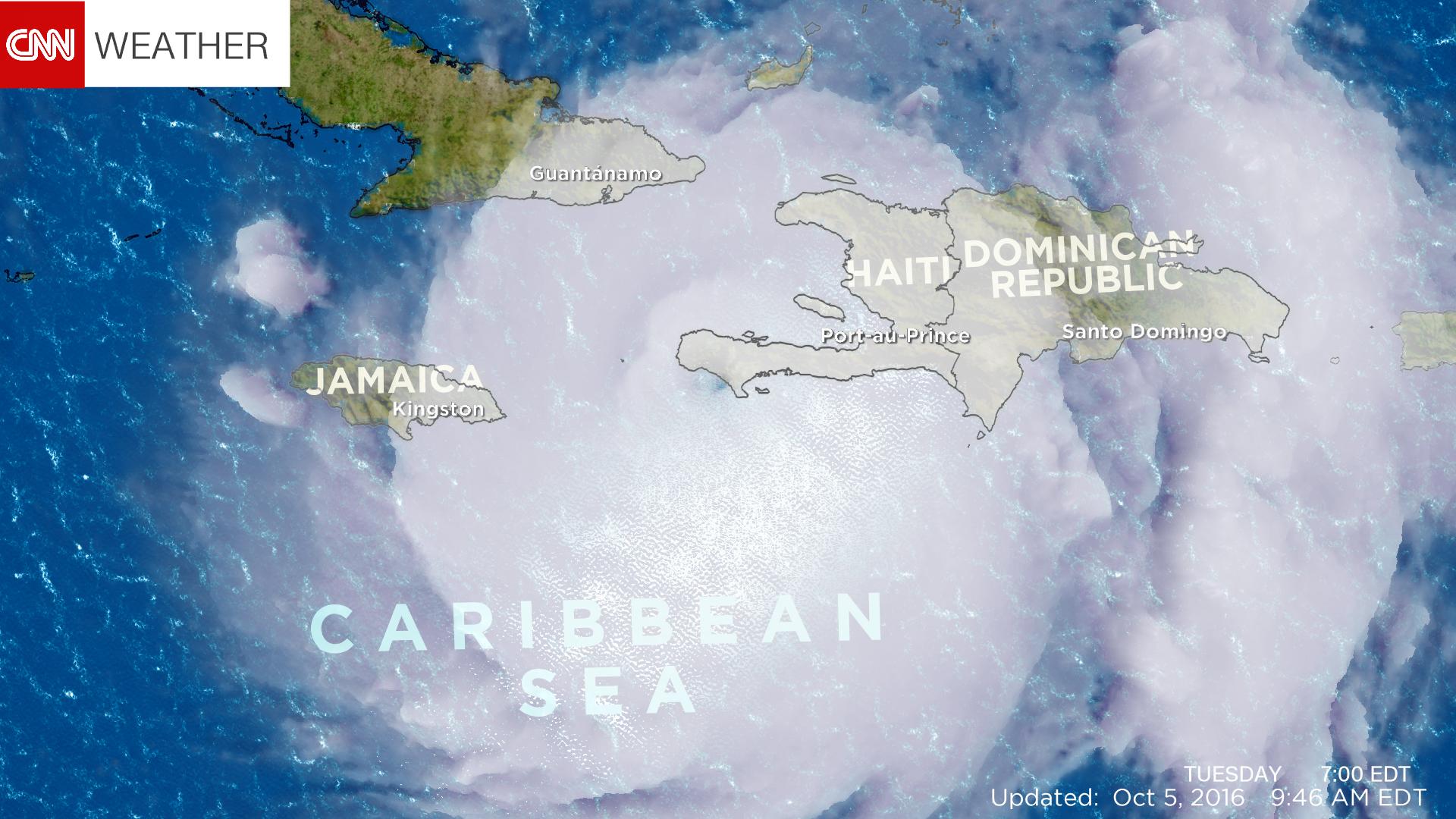 Skull Image Of Hurricane Matthew Spooks The Internet CNN - Today satellite image of world