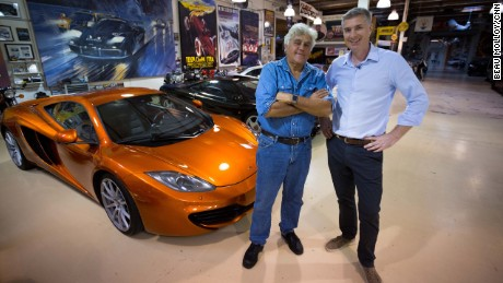 Touring Jay Leno's car collection