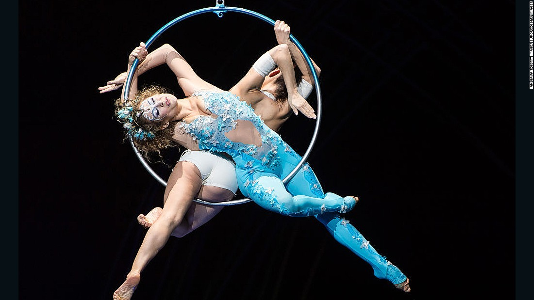 """""""Amaluna"""" features a predominantly female cast and is set on a mysterious island governed by Goddesses and guided by the cycles of the moon."""