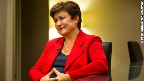 Bulgaria's Kristalina Georgieva was considered Guterres' closest rival.