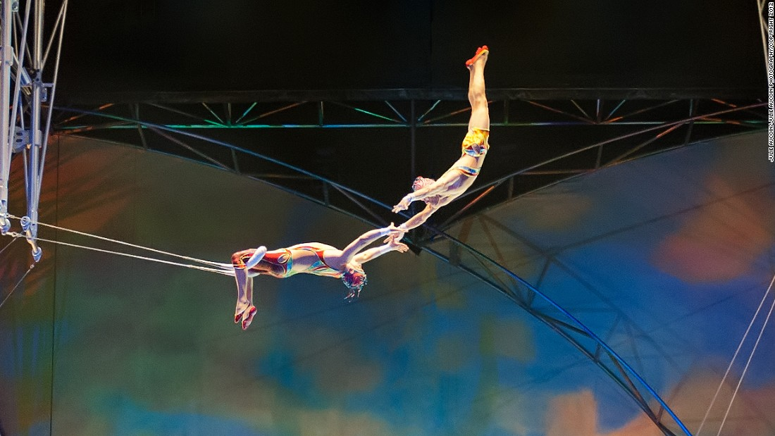 Cirque du Soleil is a Canadian theatrical company, whose elaborate contemporary circus shows have proved a global hit. Its hugely popular production Mystère features an exhilarating blend of acrobatic acts.