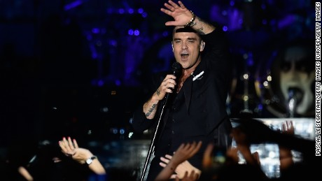 British singer Robbie Williams may have lost some fans in Russia with his latest track.