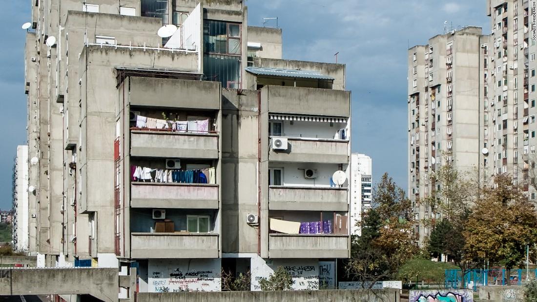 Bezanijski Blokovi Blocks, Belgrade, Serbia.