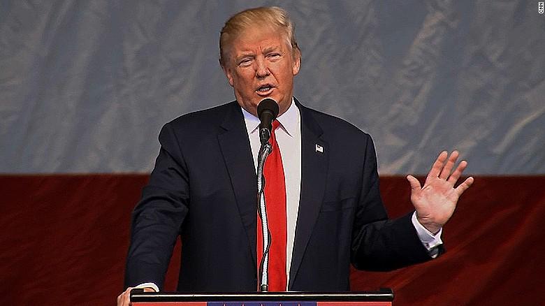 Donald Trump praises Pence, takes credit