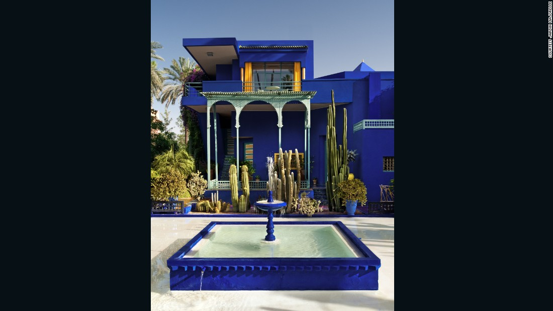 Majorelle's studio was converted into Morocco's first Berber museum, celebrating the rich culture and particularly fashion that Saint Laurent integrated into his designs.