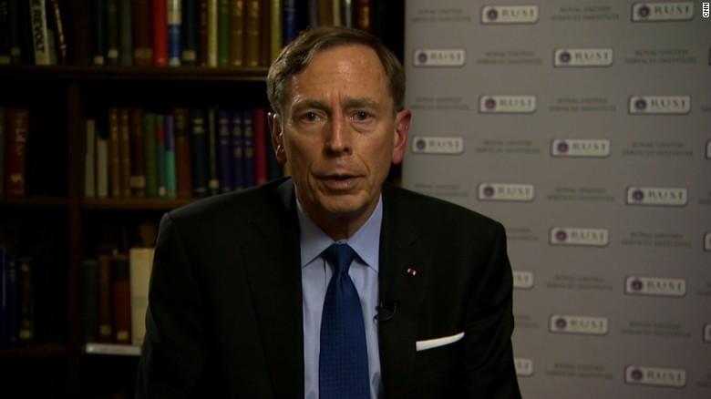 Petraeus: Straight-forward' to ground Assad air force