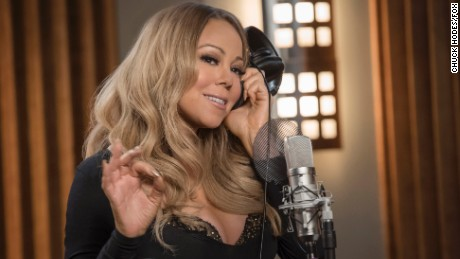 Guest star Mariah Carey did a duet with Jamal (Jussie Smollett) in the latest episode of Fox's 'Empire.'
